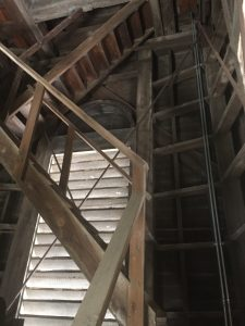 inside clock tower