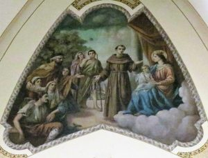 Mural of St. Anthony (circa 2016)